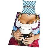 Hüttengaudi Fun Bettwäsche für Oktoberfest und Bayern Fans