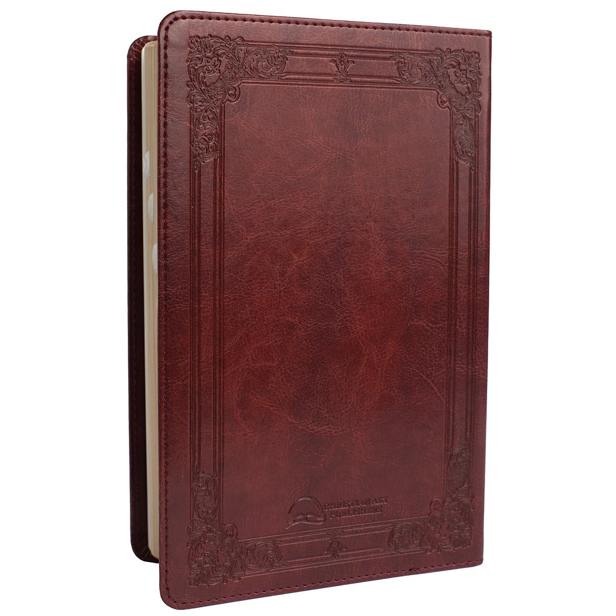 Holy Bible: KJV Standard Size Thumb Index Edition: Burgundy (King ...