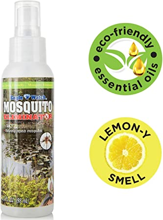 Amazon Com All Natural Mosquito Repellent Non Toxic Bug Spray