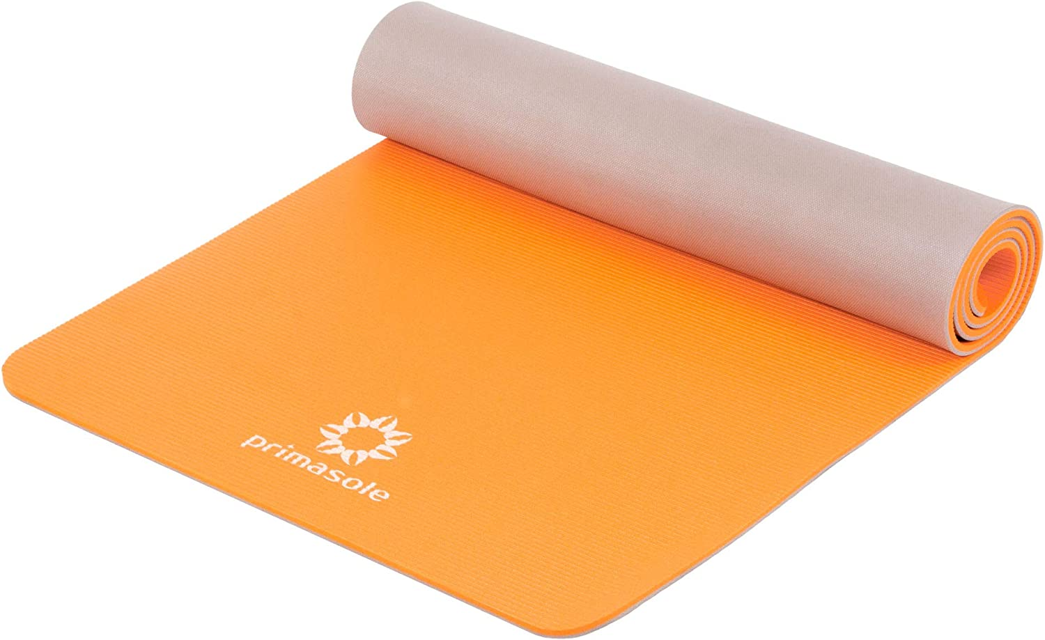 Primasole 【 Limited Brand】 Yoga Mat Folding Black Color Fitness Pilates 68 L/×24 W/×1//4 Inch Thick PSS91NH048A