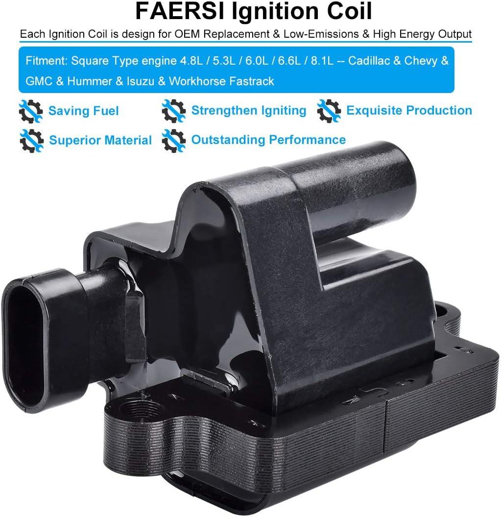 Online Automotive LRDEF35 7008-OLACU1108 Premium Ignition Coil Set