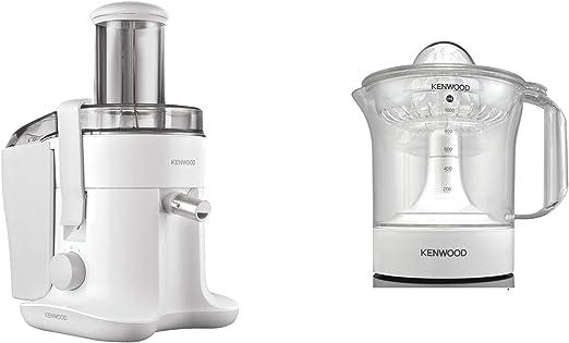 Kenwood Continuous Juicer JE680, White + Kenwood Citrus