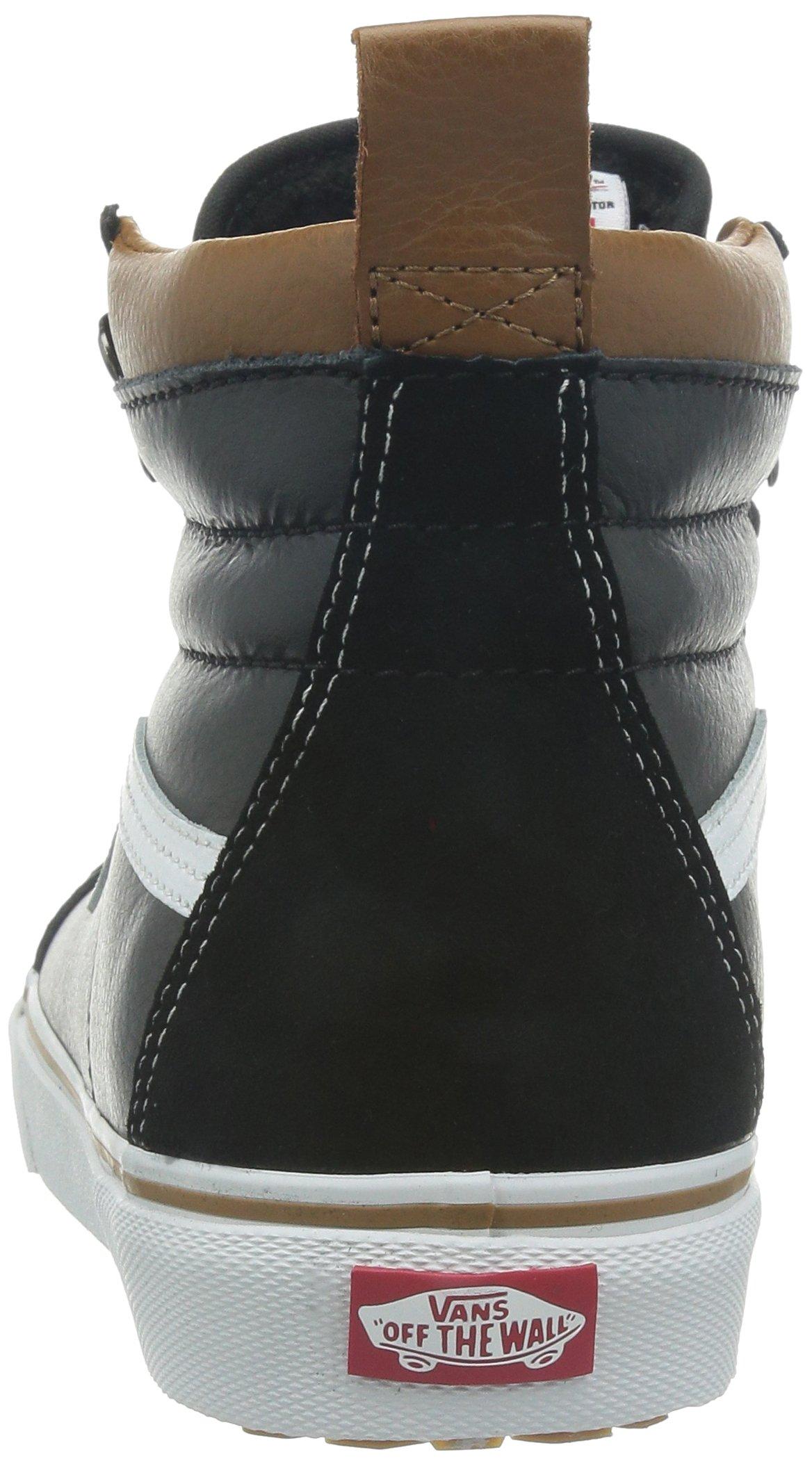 Vans Unisex Sk8-Hi MTE (MTE) Black/True White Skate Shoe 8.5 Men US/10 Women US by Vans (Image #2)