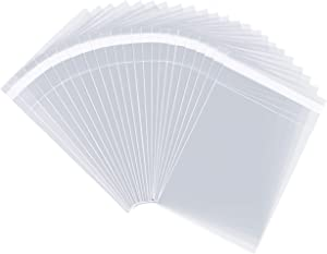 """Pack It Chic - 6"""" X 9"""" (1000 Pack) Clear Resealable Polypropylene Bags - Fits 6X9 Prints, Photos, A7 A8 A9 Cards & Envelopes - Self Seal"""