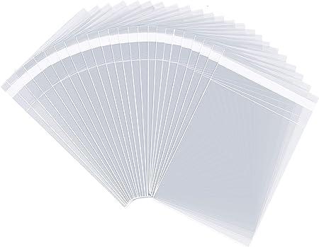 4 x 6 Clear Resealable Cello Bag Plastic Envelopes Cellophane 1000 4.25 x 6.1