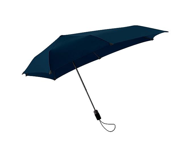 Senz - Paraguas automático (pequeño), color azul