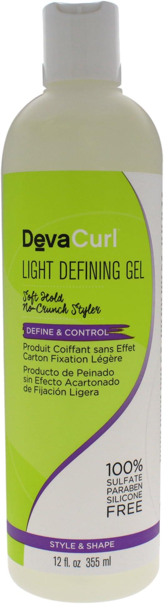 DevaCurl Light Defining Gel 12 oz (Pack of 2)