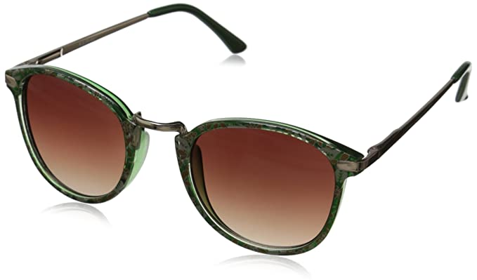 19c4e3d429 A.J. Morgan Castro 53444 Round Sunglasses