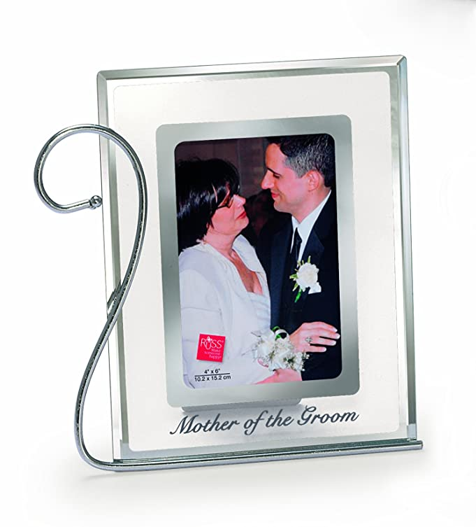 Amazon.com - Russ Mother of the Groom Glass Frame, 5 by 7-Inch ...