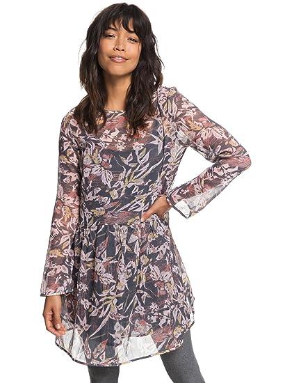 f305ae0bf1d8 Roxy Amazing Wave - Long Sleeve Dress for Women ERJWD03253  Roxy  Amazon.co.uk   Clothing