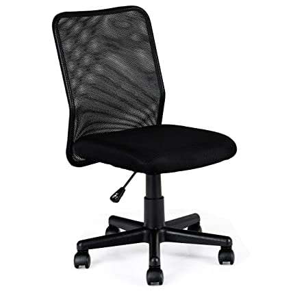 Brilliant Amazon Com Heize Best Price Black New Mid Back Adjustable Caraccident5 Cool Chair Designs And Ideas Caraccident5Info
