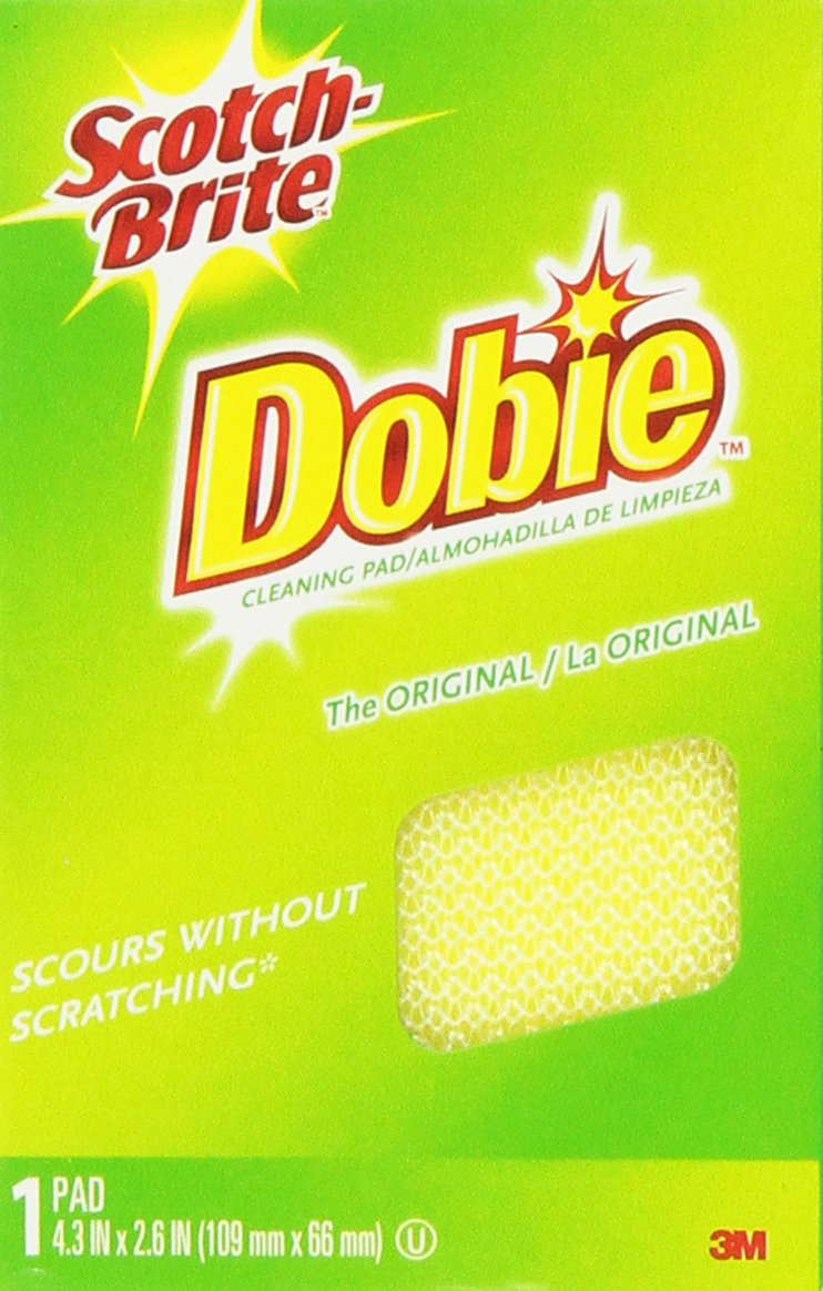 Scotch-Brite Cleaning Pads Dobie (6-Pack) Minnesota Mining 720