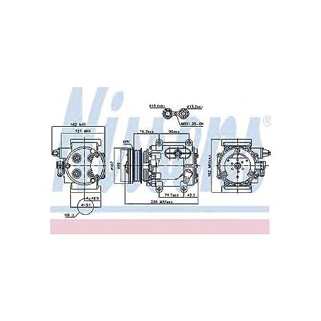 Nissens 89239 Compresor, aire acondicionado