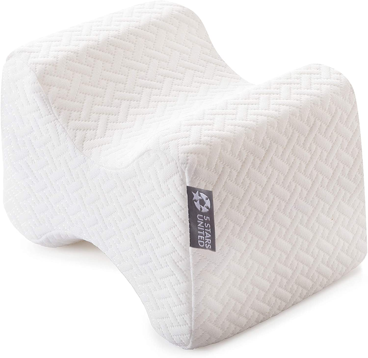 Hip Back Sciatica Joint BEAUTRIP Knee Pillow for Side Sleepers Pregnancy Support Spacer Cushion for Spine Alignment Surgery Pain Relief Memory Foam Wedge Pillow Leg Pillows for Sleeping