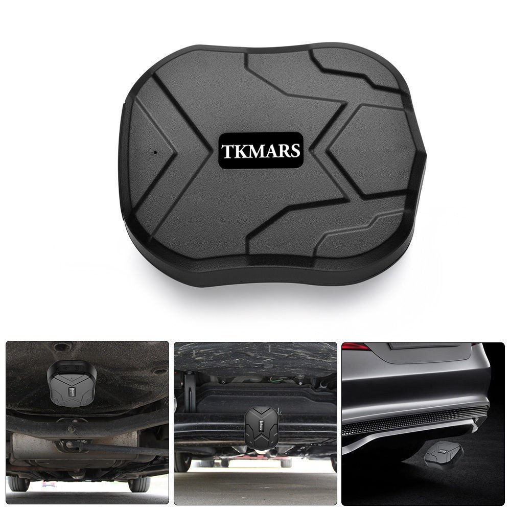 TKMARS Waterproof Cars Vehicle Tracking Device with Powerful Magnet Long Standby GPS Tracker Locator for Kids/Seniors/Pets/Cars TKMARS905 Juneo TK905