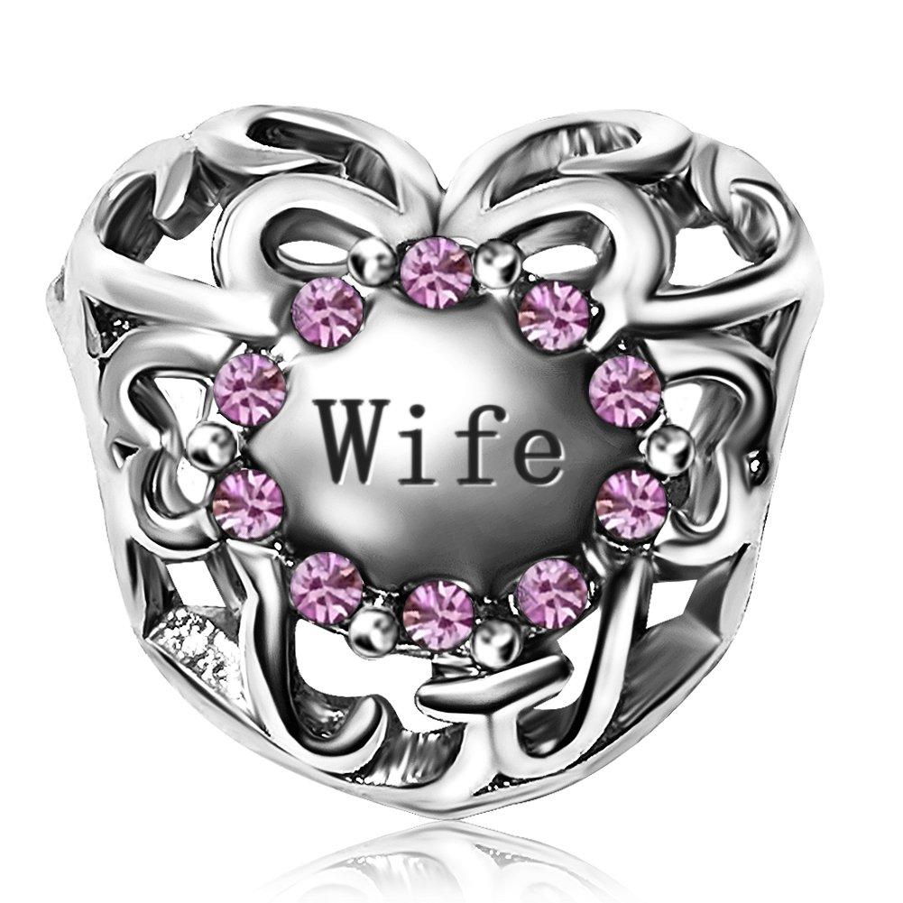 JMQJewelry Heart Wife Love Jan-Dec Crystal Charms Beads Bracelets Women JMQ-AC-JO-035_X13