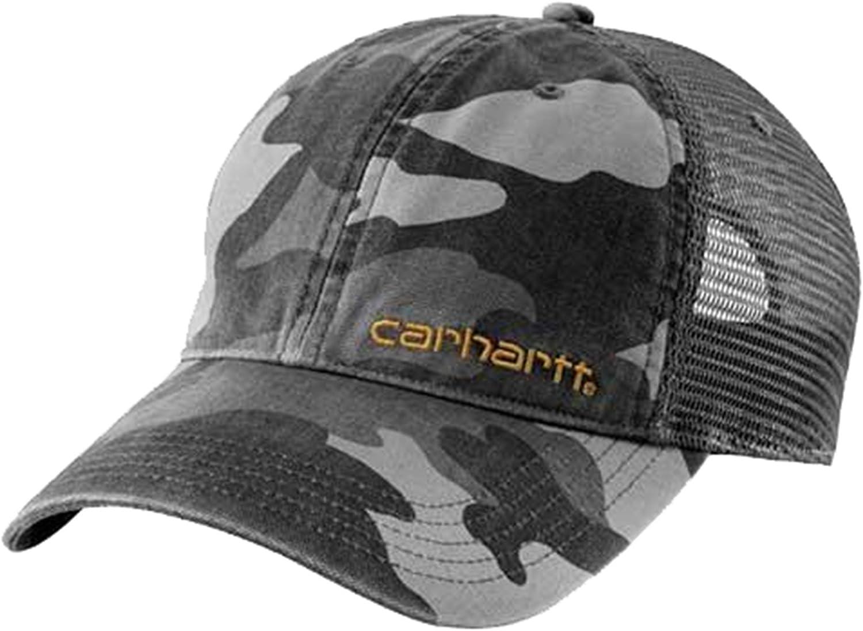 Grigio Mimetica CH101194GC uomini cappellino da baseball p Carhartt Brandt Cap