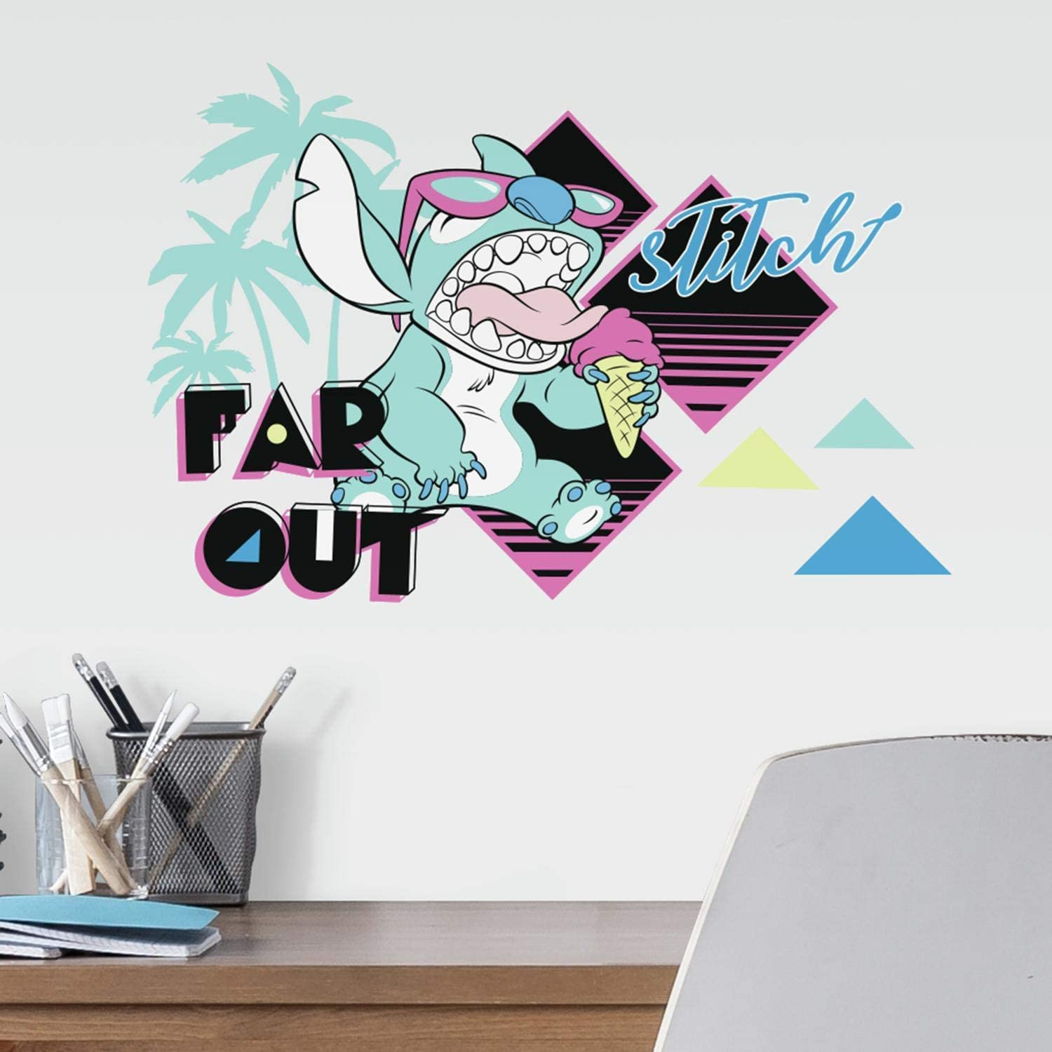 RoomMates Disney Stitch Far Out Peel and Stick Wall Decals