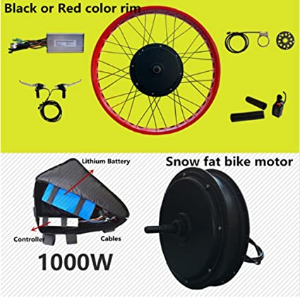 Amazon com : Front or rear motor 65km/h max snow ebike kit