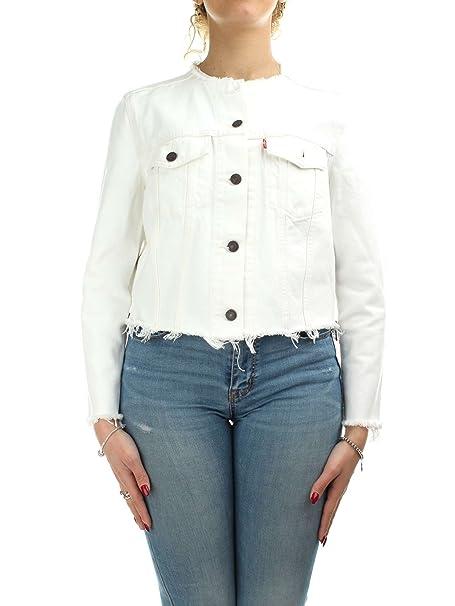 Levis 52386-0000 Chaquetas Mujer Blanco S