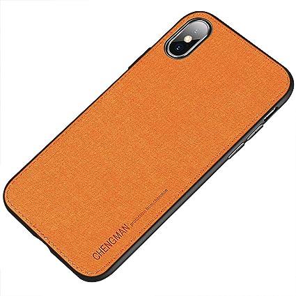 Amazon.com: CHENGMAN - Funda de lona para iPhone X, tela de ...