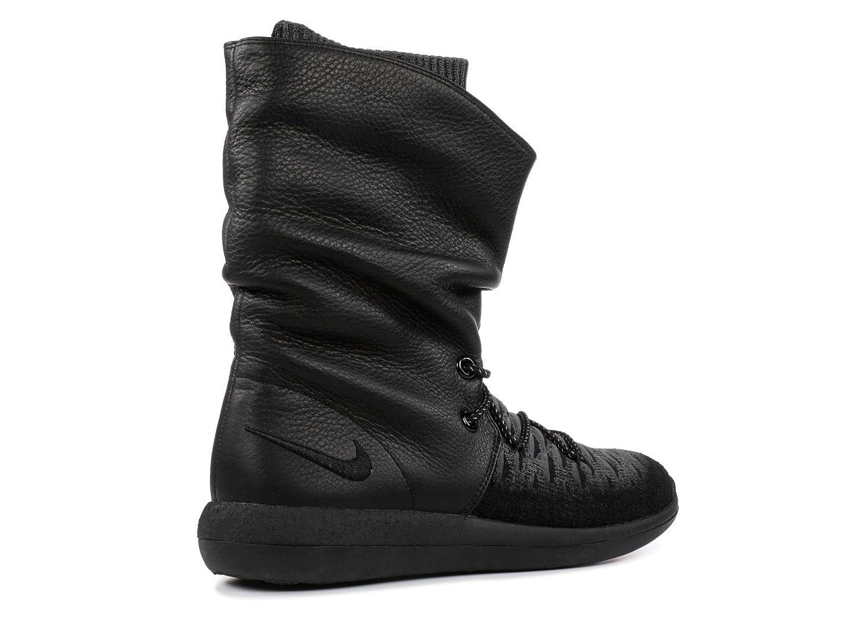NIKE Womens Roshe Two Hi Flyknit Trainers 861708 Sneakers Boots B01M4J9LPE 7.5 B(M) US|Black, Black, Dark Grey