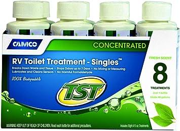 Amazon Com Camco 40221 4 Oz Concentrated Rv Toilet Treatment 8 Count Automotive