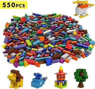 Tumama Juegos de construcción Caja de Ladrillos creativos (550pcs): Amazon.es: Juguetes y juegos