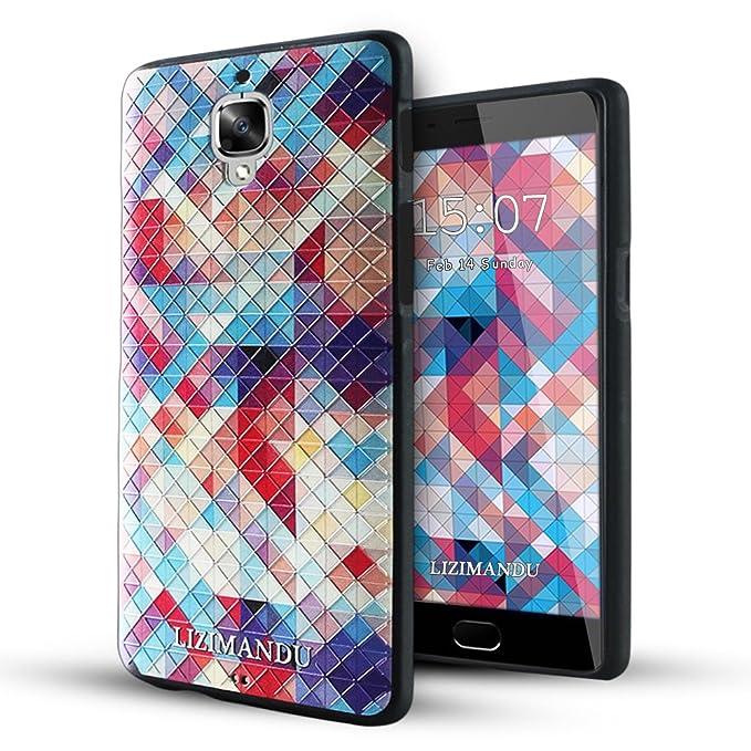 12 opinioni per Lizimandu OnePlus 3 Cover,OnePlus Three Cover, Creative 3D Schema UltraSlim TPU