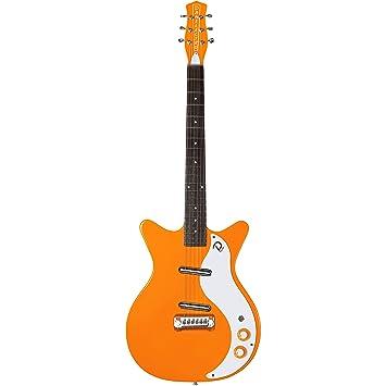 Danelectro 59M NOS + Guitarra eléctrica de doble recorte