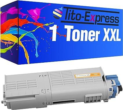 PlatinumSeries 1 Toner XXL Negro para OKI C532 C532DN C 532 DN ...