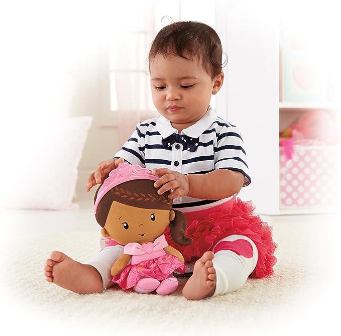 Amazon.com: Fisher-Price Princesa Chime muñeca afroamericana ...