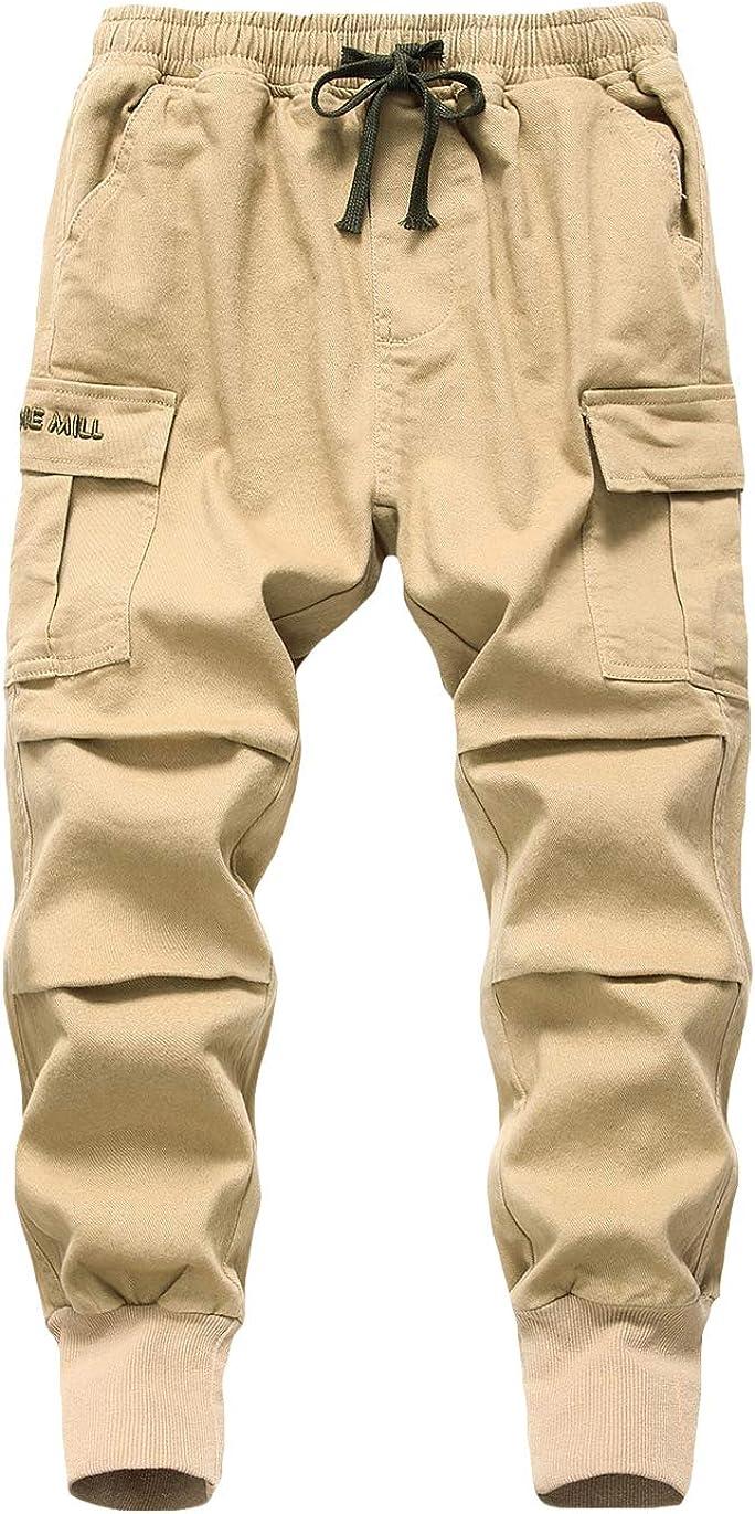 LAUSONS Pantaloni Cargo Jogging da Bambino con Tasconi