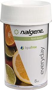 Nalgene Kitchen Storage Jar, 8-Ounce, Clear