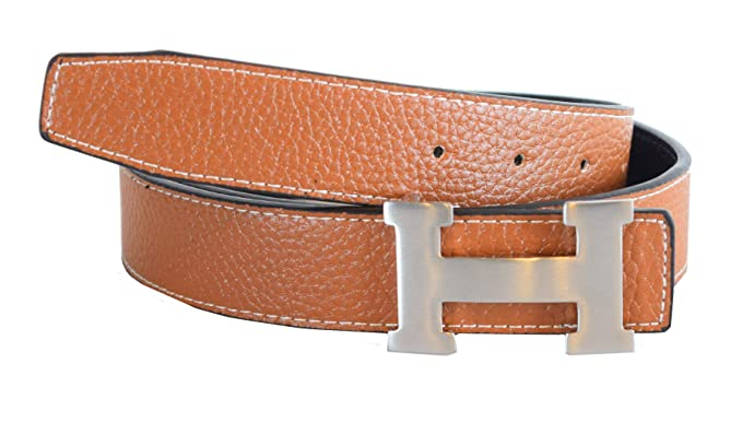 bbefb22f5 Taupe Belt with Silver Buckle at Amazon Women's Clothing store: