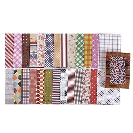 Pack de 28 hojas de pegatinas decorativas, fabricadas en tela, para manualidades