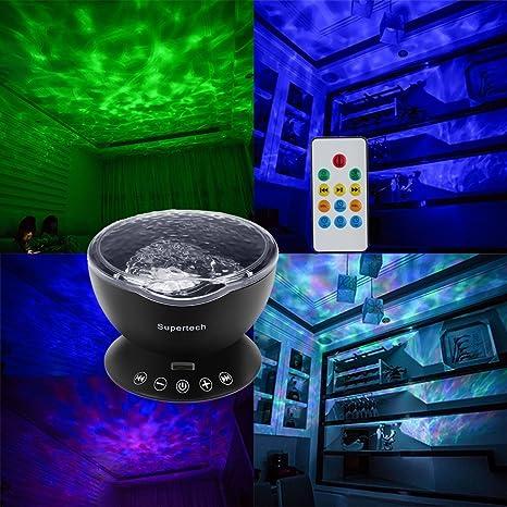 SS rtech Océano onda Estimada - Proyector LED de luz nocturna ...