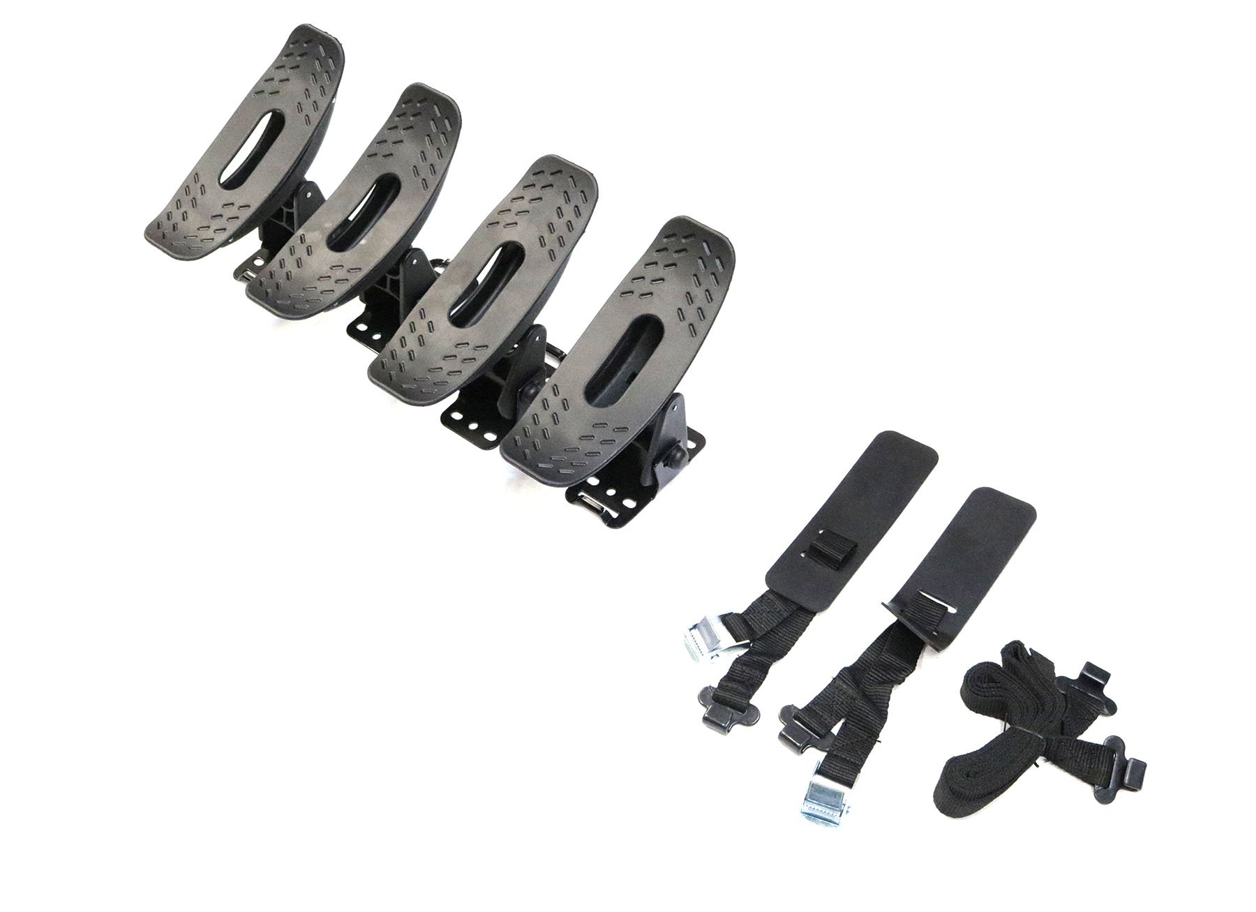 TMB Universal Dual Kayak Mounting System V1 fits most Vehicles Equipped with Cross Bars by TMB