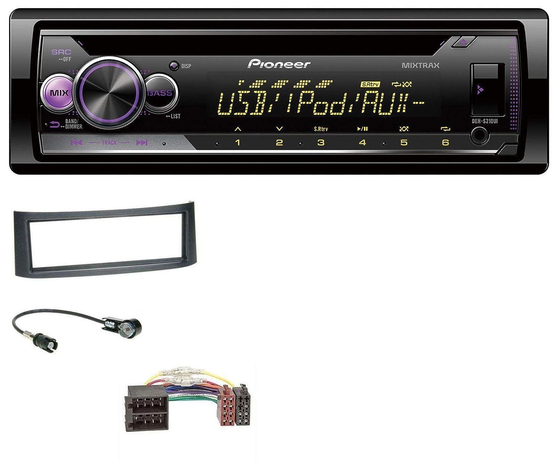 caraudio24 Pioneer DEH-S210UI AUX CD USB MP3 1DIN Autoradio fü r Smart Roadster (452)