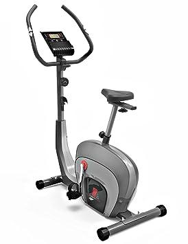 Bicicleta Ergómetrica Sportstech ES400 para casa, Control de app para smartphone, volante de inercia