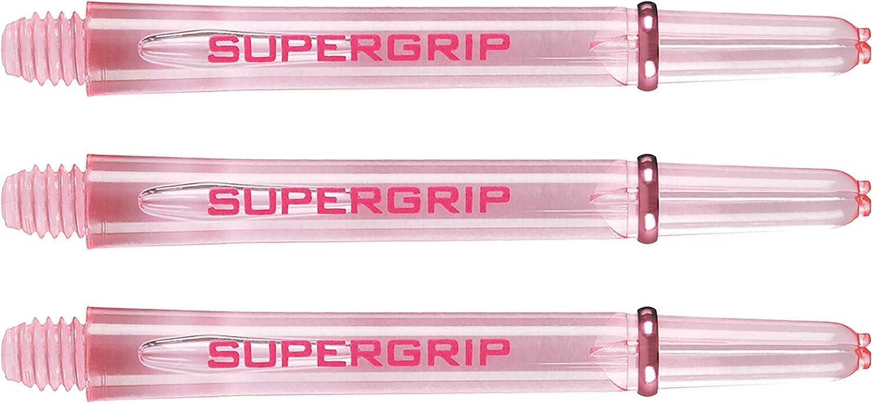 Harrows Supergrip Dart-Sch/äfte 3 Stiele Light Pink 1 Set Midi