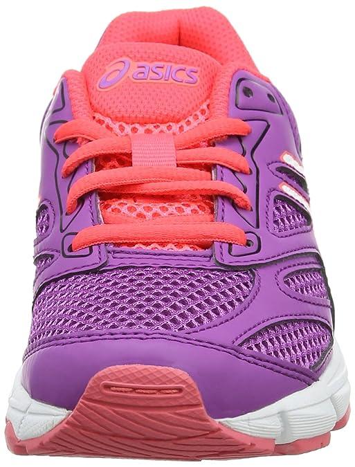 Asics Gel-Pulse 8 GS, Chaussures de Tennis Mixte Enfant, Rose (Orchid/White/Diva Pink), 35.5 EU