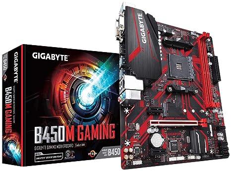 Gigabyte B450M Gaming - Placa Base (DDR4-SDRAM, DIMM, 2133,2400 ...