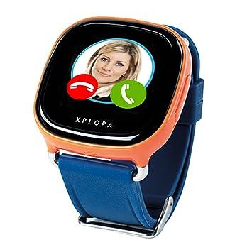 XPLORA Smartwatch para niños, SIM no incluida (NARANJA): Amazon.es: Electrónica