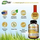 NutriFlair Premium Turmeric Curcumin Supplement