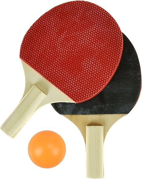 Juego de mini tenis de mesa para niños – incluye red portátil, 2 ...