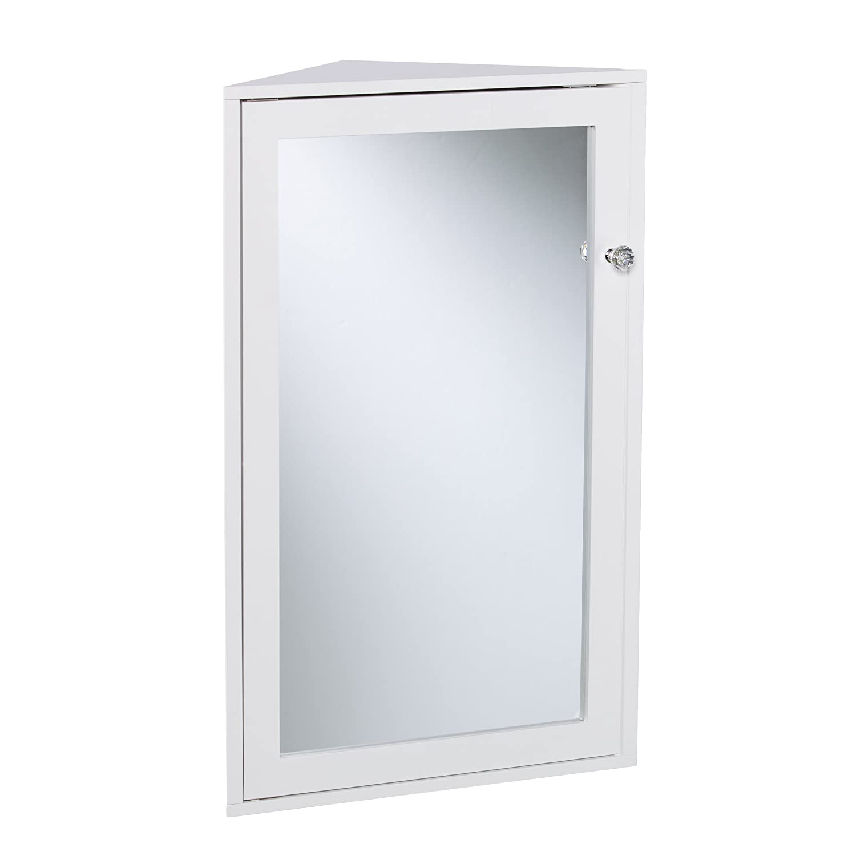 Amazoncom Furniture Hotspot Corner Medicine Cabinet White