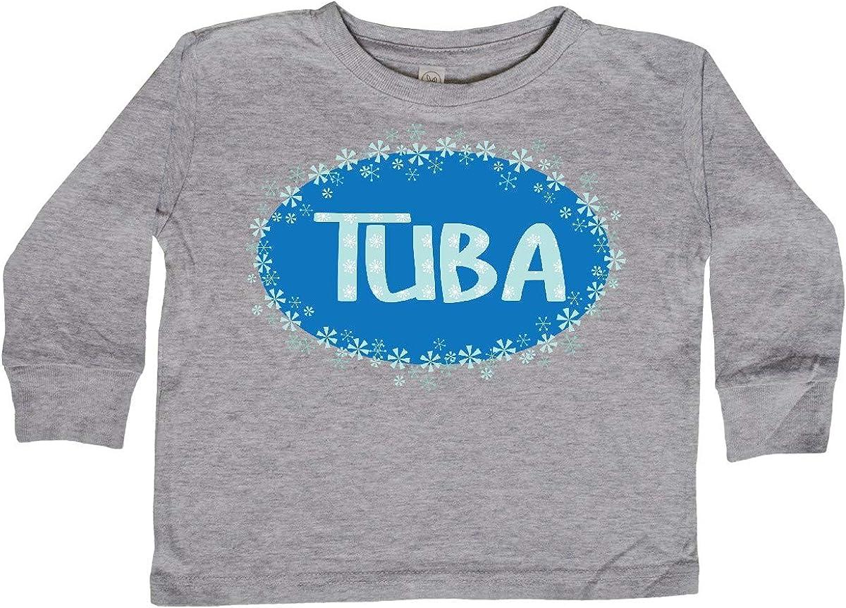 inktastic Winter Tuba Toddler Long Sleeve T-Shirt