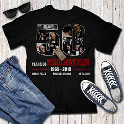 Godfather 50th Anniversary 1969 2019 Thank You For Memories Customized Handmade T-shirt //tank Top/