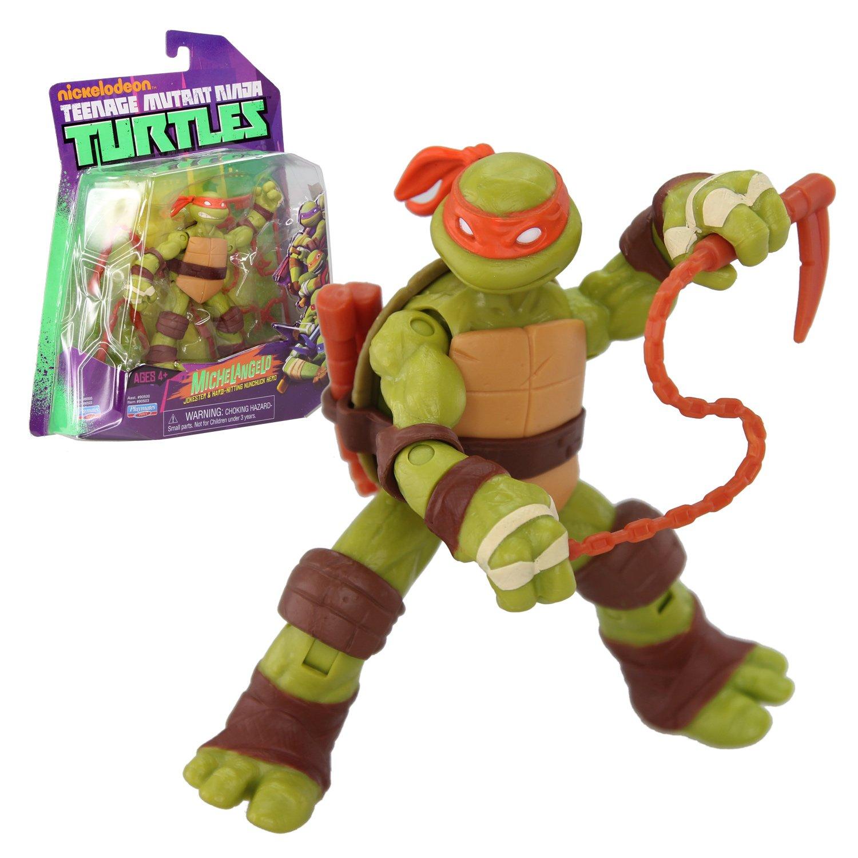 Tortugas Ninja - Figura articulada Michelangelo (Giochi Preziosi 96500)